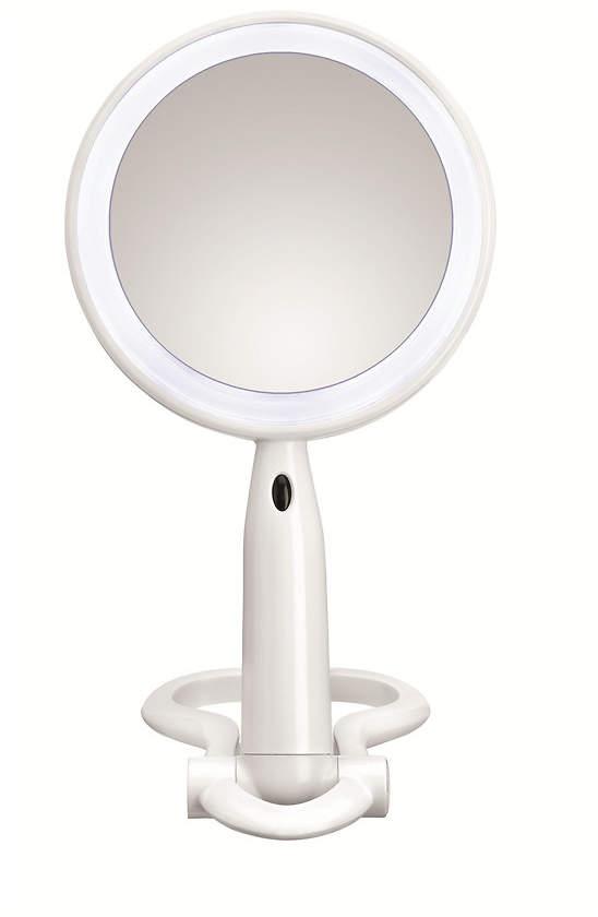 Conair Reflect Urban 1x/3x Magnification Beauty Mirror, BE52LED-2P