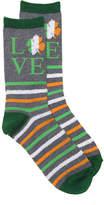K. Bell Women's Irish Love Women's Crew Socks