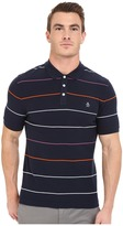 Original Penguin Short Sleeve Fine Pop Stripe Polo