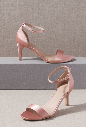 BHLDN Egret Heels By in Pink Size 9