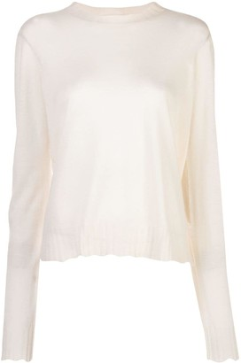 Bottega Veneta Sheer Effect Knitted Top
