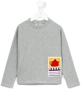 Marni patch appliqué sweatshirt