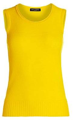 Piazza Sempione Women's Sleeveless Cashmere Top