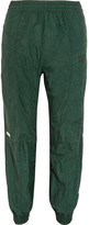Vetements Reebok Shell Track Pants - Forest green