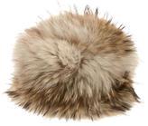 Cassin Brown Fur Beanie