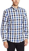 Jack Spade Men's Palmer Large Tri Color Plaid Bd One Pocket