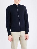 Corneliani Stand-collar fine-knit jumper