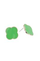 Top It Off Green Juliet Earrings