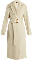 Joseph Dale peak-lapel cashmere-blend trench coat