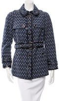 Tory Burch Long Sleeve Patterned Jacket