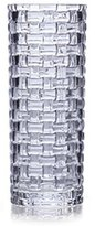 Mikasa Celebrations by Crystal Basket Weave Vase, 7.75-Inch