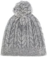 Zanone cable knit hat
