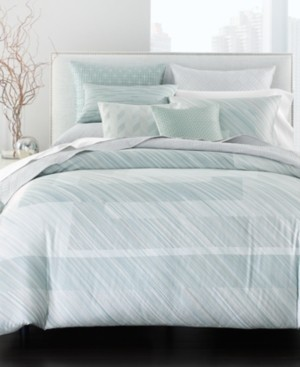 Hotel Collection Layered Frame King Duvet, Created for Macy's Bedding