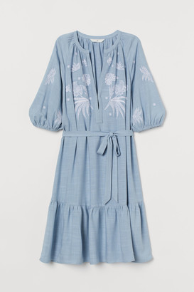 H&M Embroidered Dress