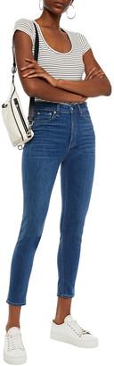 Rag & Bone Nina Cropped High-rise Skinny Jeans