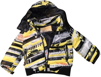 John Galliano Yellow Polyester Jackets & Coats