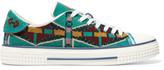 Valentino Beaded Mesh Sneakers
