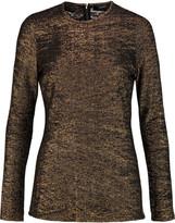 Ellery Metallic knitted top