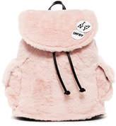 Steve Madden Caleb Faux Fur Backpack