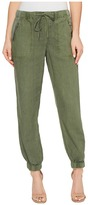 Blank NYC Drawstring Pants in Misty Moss Women's Casual Pants