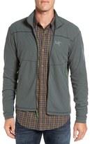Arc'teryx 'Delta Series' Trim Fit Lightweight Fleece Jacket