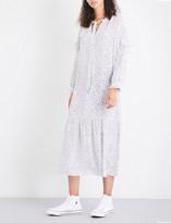 MiH Jeans Erika floral-print silk-crepe de chine midi dress
