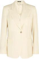 Maison Margiela Wool-blend Blazer - Cream