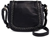 Mossimo Women's Faux Leather Mini Saddle Crossbody Handbag