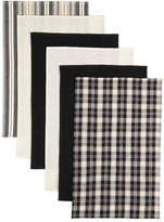 JCPenney BARDWIL Bardwil Set of 6 Flat Woven Kitchen Towels