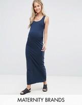 Mama Licious Mama.licious Mamalicious Jersey Maxi Dress