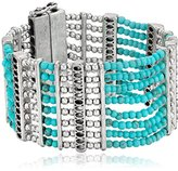 Lucky Brand Turquoise Lucky Layer Bracelet