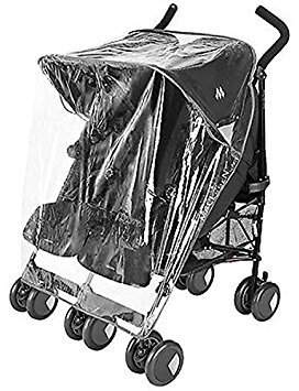 Joie Raincover Compatible with Aire Twin Double Pushchair (213)
