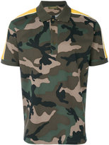 Valentino camouflage polo shirt - men - Cotton/Polyamide - XS