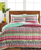 Pem America CLOSEOUT! Tribal Stripe 3-Pc. Twin/Twin XL Comforter Set