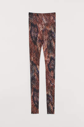 H&M Silk-blend Leggings