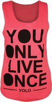 VIP Womens Sleeveless Yolo Vest Top (M8) (4/6 (uk 8/10), )