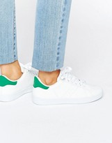Missguided Green Tab Sneakers