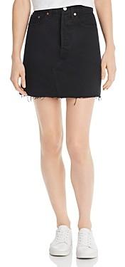Levi's Iconic Denim Skirt in Left Behind