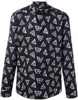 Kenzo Bermudas Triangle shirt - men - Cotton - 38