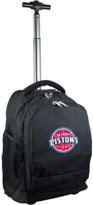 Detroit Pistons Premium Wheeled Backpack