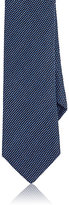 Barneys New York Men's Silk-Blend Necktie-BLUE