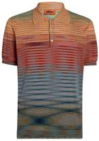 Missoni Gradient Stripe Polo Shirt