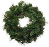 Camilla And Marc WeRChristmas Victorian Pine Christmas Wreath Decoration, 51 cm - Large, Green