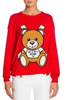 Moschino Oversized Bear Knit Sweater