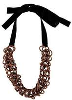 Marni Fabric Link Necklace