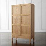 Crate & Barrel Victuals Cherry Bar Cabinet