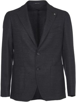 Tagliatore Anthracite Grey Wool Jacket