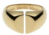 Chevalière Yellow Gold Split Ring