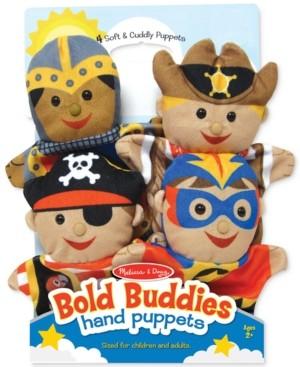 Melissa & Doug Kids' Bold Buddies Adventure Set Hand Puppets