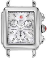 Michele 18mm Deco Diamond Dial Watch Head